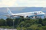 Flybe Embraer G-FBEG (35593422744).jpg