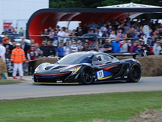 McLaren P1 - McLaren P1 GTR at the 2016 Goodwood Festival of Speed