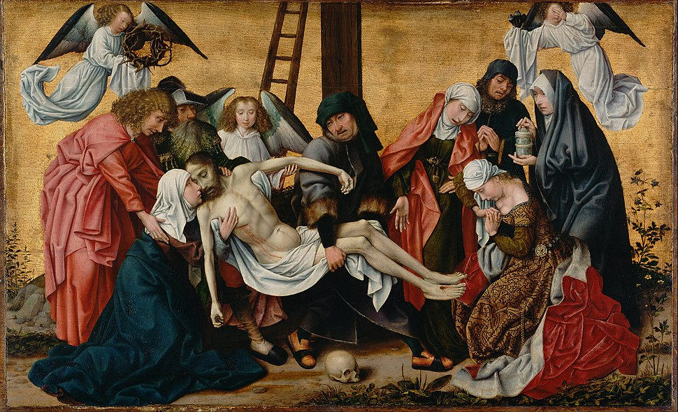 Follower of Rogier van der Weyden (Netherlandish - The Deposition - Google Art Project