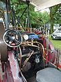 Footplate, The Pirate, Aveling and Porter, Abergavenny steam rally 2012.jpg