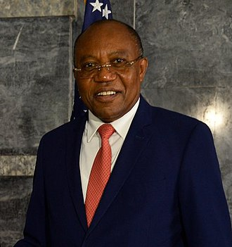 Manuel Domingos Augusto - Image: Foreign Minister Augusto (47420242361) (cropped)