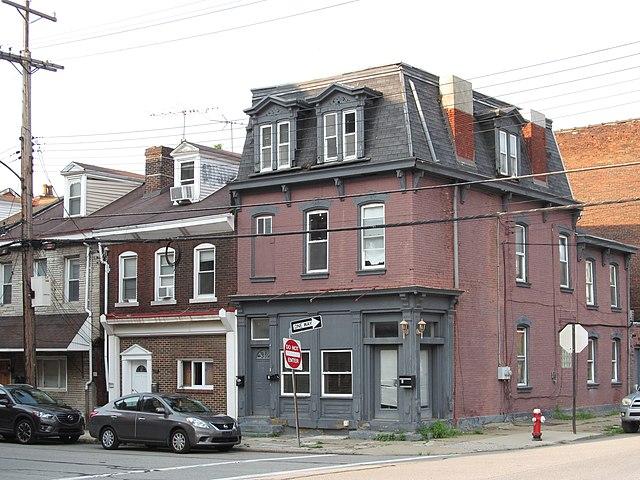 Former storefronts