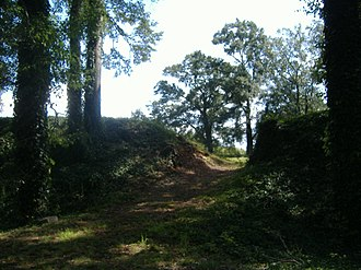 Fort Harker (Alabama) - Image: Fort Harker outside entrance