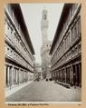 Fotografi av Uffizierna och Palazzo Vecchio i Florens - Hallwylska museet - 102996.tif