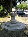 Fountain within the main car park at Petersfield - geograph.org.uk - 835304.jpg