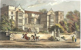 Fountains Hall - Fountains Hall in 1830.