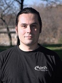 Frédéric Couchet - Journée de l'Informatique Libre - Toulon - 15 janvier 2011 - P1600684-1.jpg