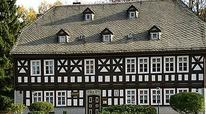 Friedrich Fröbel - House in Oberweißbach where Friedrich Fröbel was born