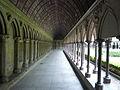 Fr Mont-Saint-Michel Cloister gallery 2.JPG