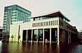 Frankfurt Oder, Germany, 1997 Sparkasse building in the Oder flood.jpg