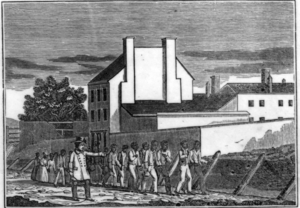 History of slavery in Virginia - Slave prison in Alexandria, Virginia, ca. 1836