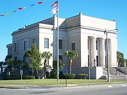 Franklin Countys domstolhus i Apalachicola.