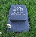 Franz Braun (1923-2016) -grave.jpg