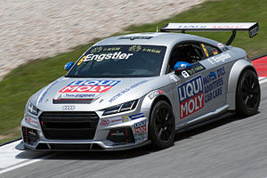 TCR International Series - An Audi TT Cup, which was allowed in the first season of the TCR International Series.
