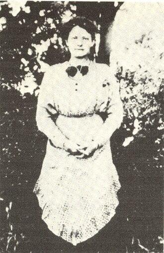 Anna Anderson - Franziska Schanzkowska, c. 1913