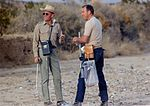 Fred Haise (left) and Jim Lovell, the Apollo 11 Back-up LM crew on the Sierra Blanca geology field trip.jpg