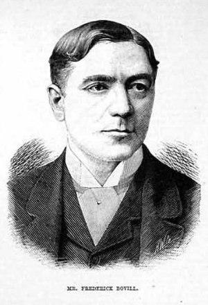 Frederick Bovill - Frederick Bovill in 1885