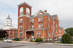 Fredonia, New York - Fredonia Village Hall and Opera House, July 2015