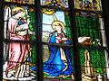 Freistadt Pfarrkirche - Fenster 4a Verkündigung.jpg