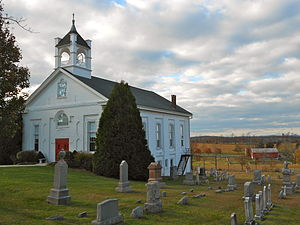 Seven Valleys, Pennsylvania - Friedensaal Church about two miles south of town