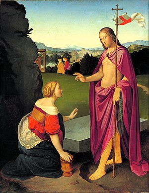 Johann Friedrich Overbeck -  Easter Morning