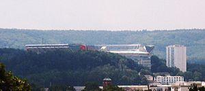 Betzenberg - The Fritz Walter Stadium on the Betzenberg