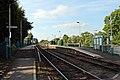 From the level crossing, Pen-y-ffordd railway station (geograph 4032576).jpg
