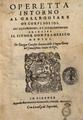 """Frontispiece of """"Operetta intorno al Galleggiare de Corpi Solidi"""" by Giorgio Coresio.png"""