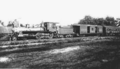 Fulton County Narrow Gauge Railroad - Engine No 66 arriving in Galesburg, 1903.png