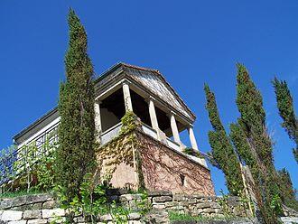 Bech-Kleinmacher - Reconstructed Roman Funeral Chamber in Bech-Kleinmacher