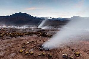 El Tatio - The El Tatio geyser field