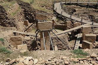 Upper Mesopotamia - Monumental stone buildings at Göbekli Tepe, ca. 9000 BC