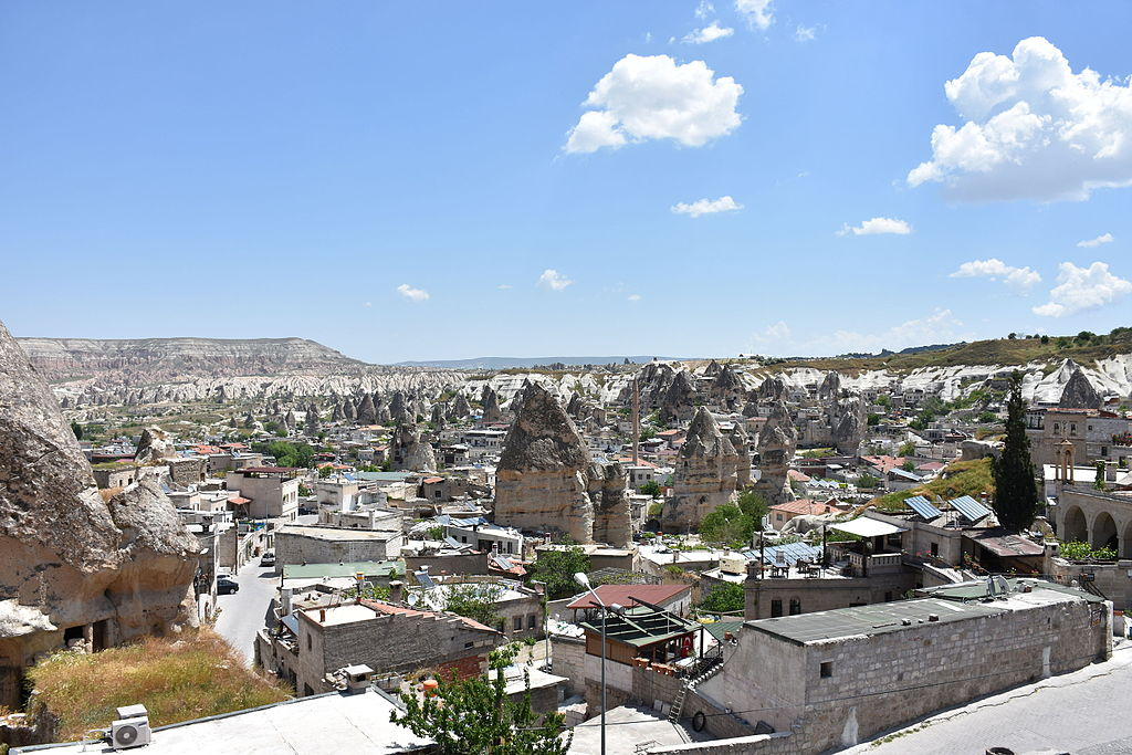 Göreme town and valley 2015