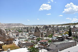 town of Turkey and district of Nevşehir Province