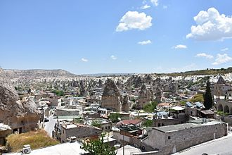 Göreme - Göreme town and valley