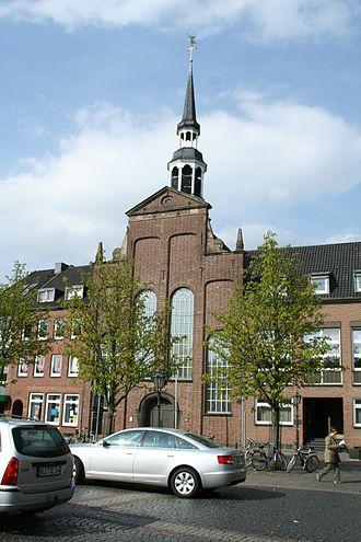 Goch - Protestant Kirche am Markt in Goch