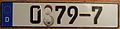 GERMANY DIPLOMATIC -EMBASSY OF SOUTH KOREA LICENSE PLATE - Flickr - woody1778a.jpg