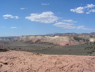 Grand Staircase-Escalante National Monument - View from Cottonwood Canyon Road south of Cannonville, Utah