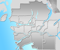 New Westminster Bridge is located in Vancouver