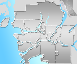 Greater Vancouver - Image: GVA map