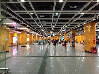Guangzhou South Railway Station - Metro Station Hall