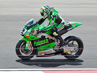Gábor Talmácsi - Talmácsi at the 2010 Dutch TT.