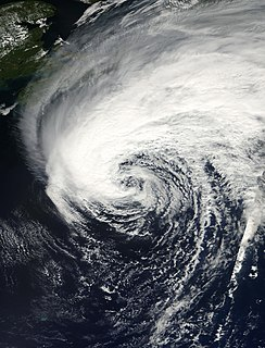 Hurricane Gabrielle (2001) Category 1 Atlantic hurricane in 2001