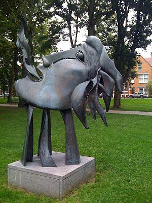 Fons Bemelmans - Gaia (1998) in Utrecht.