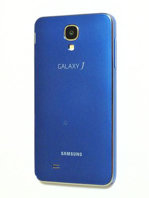 Samsung Galaxy J - Back view of the Japanese model, SC-02F