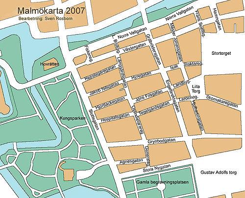 kort indisk små i Malmö