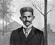 Gandhi in Zuid-Afrika (1895)