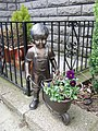 Garden ornaments at Fiveways cafe - geograph.org.uk - 387760.jpg