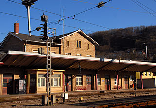 Dommeldange railway station railway station in Luxembourg
