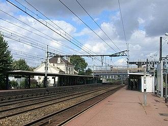 Ivry-sur-Seine - Image: Gare Ivry sur Seine